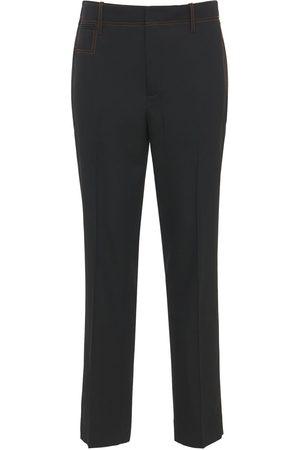 J.W.Anderson Slim Wool Gabardine Pants