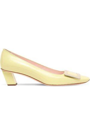 "Roger Vivier Zapatos Pumps ""belle Vivier"" De Charol 45mm"