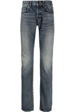 Saint Laurent Hombre Skinny - Jeans slim con tiro medio