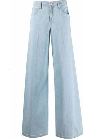 J Brand Mujer Jeans - Jeans anchos de tiro medio