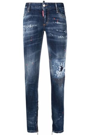 Dsquared2 Mujer Skinny - Skinny jeans Made with Love Spots