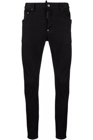 Dsquared2 Hombre Skinny - Skinny jeans con tiro bajo
