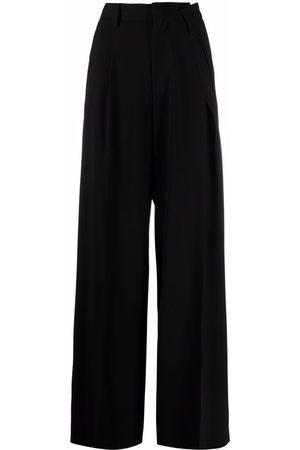MM6 MAISON MARGIELA Mujer Anchos y de harem - Pantalones anchos asimétricos