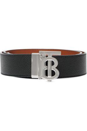 Burberry Hombre Cinturones - Cinturón con monograma en la hebilla