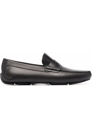Salvatore Ferragamo Hombre Mocasines - Zapatos drive con placa de logo