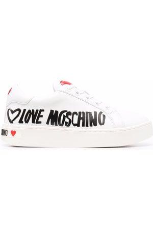 Love Moschino Mujer Tenis - Zapatillas con motivo de corazón