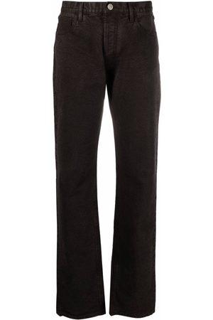 The Attico Mujer De vestir - Mid-rise straight-leg trousers