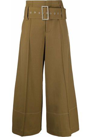 10 CORSO COMO Mujer Anchos y de harem - Pantalones anchos de talle alto