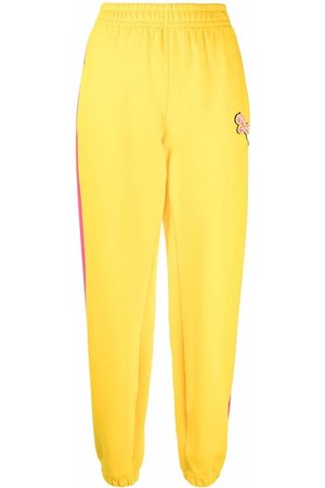 Styland Mujer Pantalones y Leggings - Logo-embroidered track pants