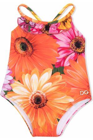 Dolce & Gabbana Floral-print swimsuit