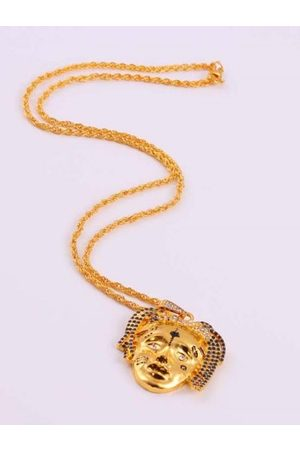 Zaful Hombre Collares - Personalized Face Hip Hop Necklace