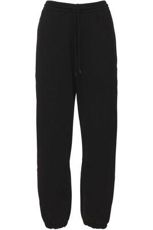WARDROBE.NYC Mujer Pantalones y Leggings - Pantalones De Felpa De Algodón Sin Cepillar