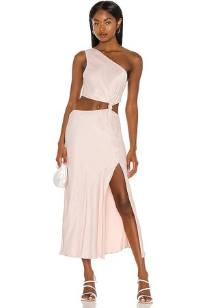 LPA Mujer Vestidos - Vestido imani en color rubor talla L en - Blush. Talla L (también en XS, S, M, XL).