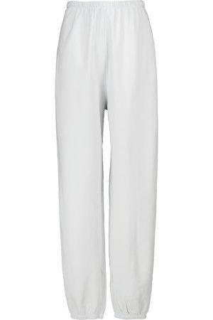 Velvet Britt cotton jersey sweatpants