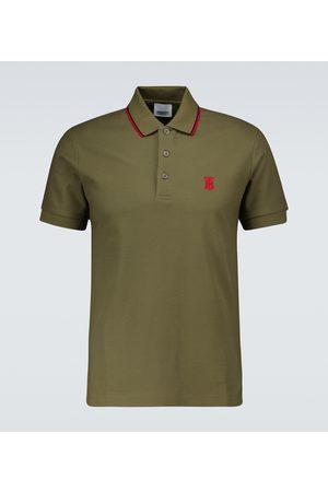 Burberry Walton cotton polo shirt