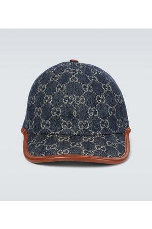 Gucci Hombre Gorras - GG denim baseball cap