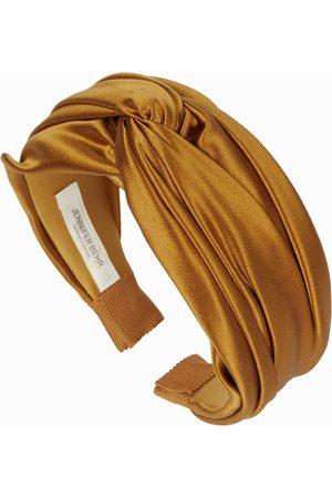 Jennifer Behr Twist satin headband