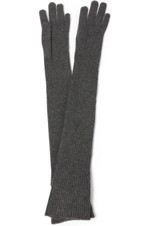 Brunello Cucinelli Cashmere-blend gloves
