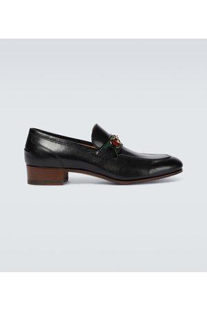 Gucci Hombre Mocasines - Horsebit leather loafers