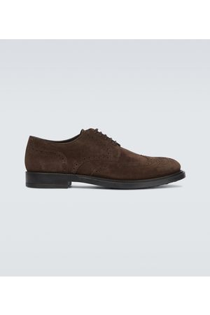 Tod's Hombre Oxford - Suede Derby shoes