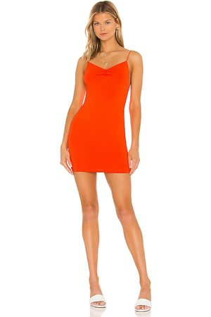 superdown Minivestido dia en color talla L en - Orange. Talla L (también en XXS, XS, S, M, XL).