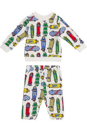 Stella McCartney Baby printed sweatshirt and sweatpants set