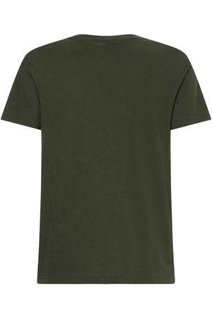 Calvin Klein Camiseta Manga Corta Contrast Graphic Logo L Dark Olive