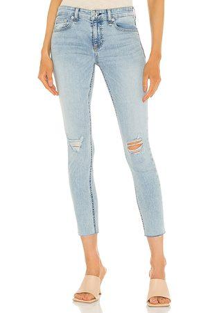 RAG&BONE Cate mid rise ankle skinny jean en color azul talla 23 en - Blue. Talla 23 (también en 24, 25, 26, 27, 28, 29, 30).