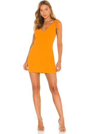 Amanda Uprichard Mujer Vestidos - Vestido allora en color naranja talla L en - Orange. Talla L (también en XS, S, M).