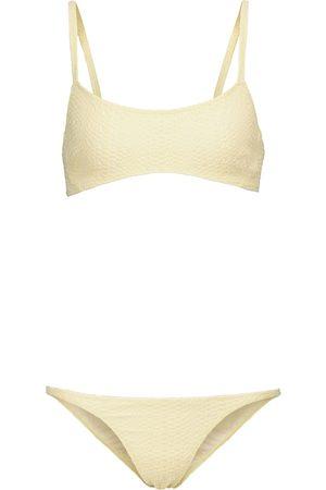 Lisa Marie Fernandez KK seersucker bikini