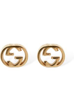 "Gucci Mujer Relojes - Pendientes ""gg"" De 18kt"