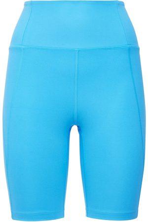 GIRLFRIEND COLLECTIVE Shorts De Ciclismo Con Cintura Alta