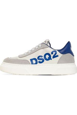 Dsquared2 Sneakers De Piel Y Ante Con Cordones Y Logo