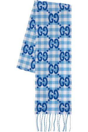 Gucci Hombre Bufandas - Bufanda Gg De Lana Con Logo