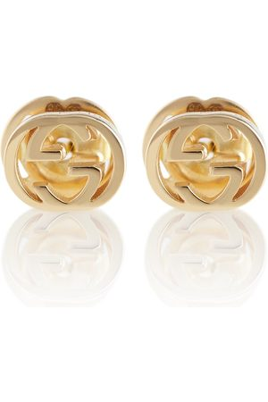 Gucci Interlocking G 18kt gold earrings