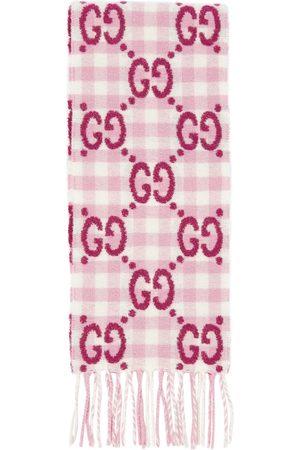 Gucci GG wool-blend scarf