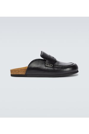 JW Anderson Leather loafer mules