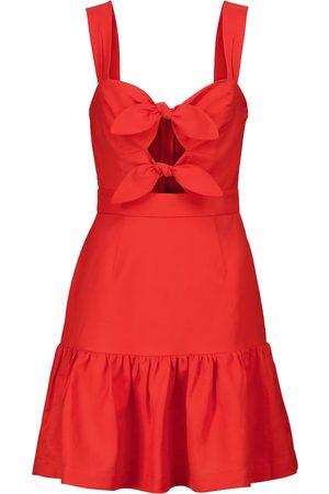 Rebecca Vallance Pablo linen-blend minidress