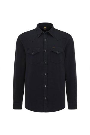 Lee Camisa Manga Larga Regular L Black