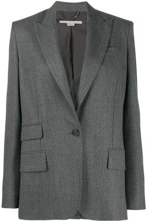 Stella McCartney Blazer con botones y detalle de bolsillos