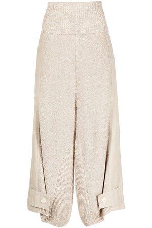 Stella McCartney Pantalones tejidos anchos