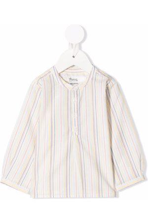 BONPOINT Camisa a rayas sin cuello