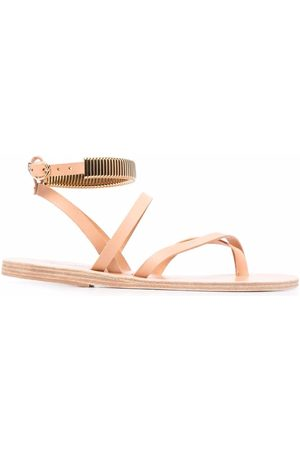 Ancient Greek Sandals Mujer Sandalias - Sandalias con detalle metalizado