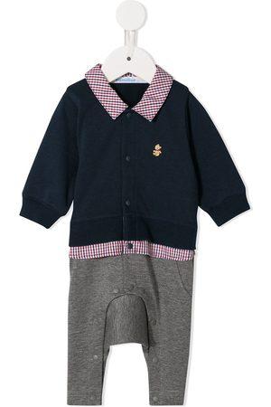 Familiar Pantalones y Leggings - Set de body con diseño de camisa y pantalones