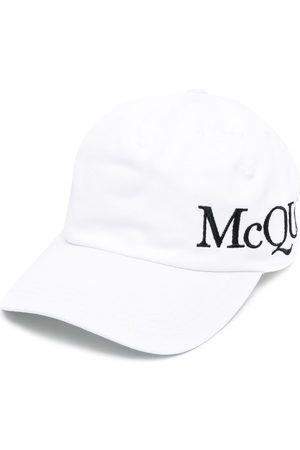 Alexander McQueen Hombre Gorras - Gorra con logo bordado