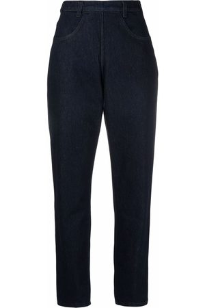 Serafini Jeans rectos con tiro alto