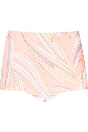 Emilio Pucci Mujer Estampados - Shorts con estampado Vortici