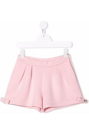 Simonetta Shorts ajustados con tiro alto