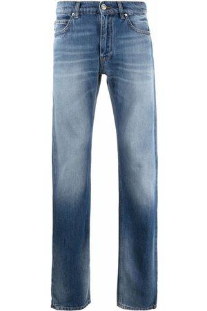 VERSACE Jeans rectos con efecto degradado