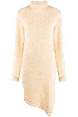 Jil Sander Mujer Suéteres - Suéter con cuello vuelto asimétrico